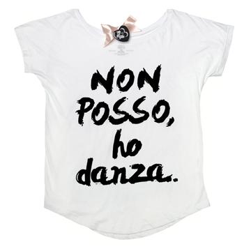 maglietta bianca non posso ho danza bologna